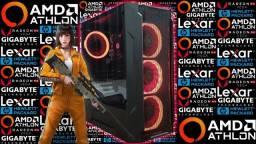 PC Gamer><Atlhon 3000G + Vega 3><Novo c/ Garantia!