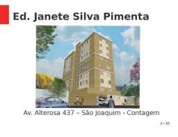Apartamento à venda, 2 quartos, 1 vaga, Vila Santa Luzia - Contagem/MG