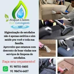 Lavagem e higienizacão