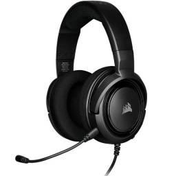 Headset Gamer Corsair HS35 Stereo, PC, PS4, Xbox, Carbono - CA-9011195-NA