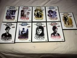 9 DVDs Charles Chaplin preço por tudo
