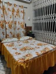 Kit colchas cortinas