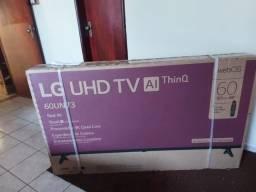 TV 60 LG UHD NOVA COMPRADA NA SEGUNDA FEIRA  LACRADA COMANDO DE VOZ E BLUETOOTH