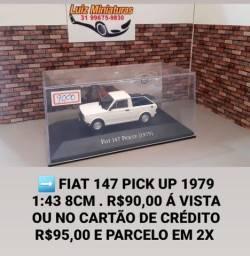 Miniatura Fiat 147 pick up