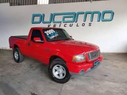 Ford/ Ranger XLS Sport Vermelha Completo Bancos em Couro Aceito Trocas e financio
