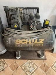 Título do anúncio: Compressor De Ar Schulz Bravo - 10 Pes 100 Litros