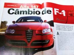 Título do anúncio: Revista - Alfa 147