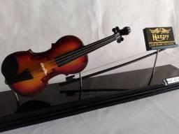 Título do anúncio: Miniatura de Violino no Acrílico + Porta Partitura
