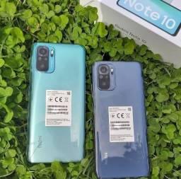 Redmi Note 10 64GB +4 GB Ram China Preto/Verde