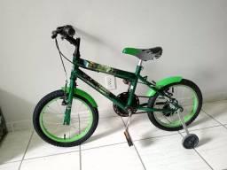 Bicicleta aro 16 impecável Huck semi nova
