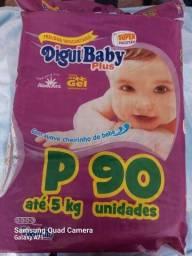 Título do anúncio: Fraldas Digui Baby plus