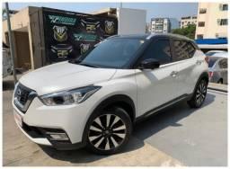 Título do anúncio: Nissan kicks 1.6 automatico flex 2018 branco