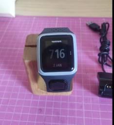 Relógio esportivo com GPS TomTom Runner - Aceita cinta cardica