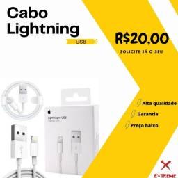 Título do anúncio: Cabo lightning USB Iphone