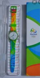 Relógio Swatch das Olimpíadas Rio 2016 - Raridade