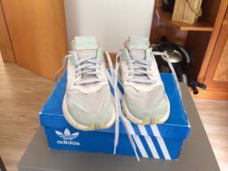 Tenis Adidas originals nite jogger cinza tam 40