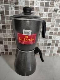 Cafeteira alumínio nova
