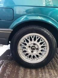 Rodas bbs vw 14 com pneus