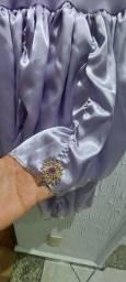 Vendo  lindo vestido de Princesa na cor Lavanda/lilás