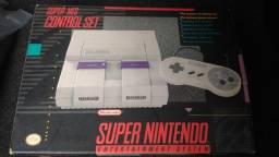 Snes Super Nintendo Impecável