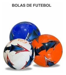 Kit de bolas de futebol, vôlei e basquete