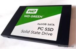 Título do anúncio: ssd WD Green 240 gb