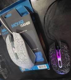 Mouse Gamer Knup Kp-v16 2400 Dpi Led 6 Botões Pc Notebook<br><br>