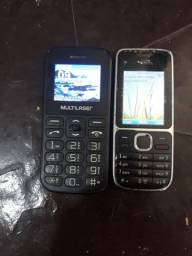 Vendo celular de botão 50$ cada um