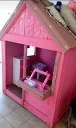 Vendo casinha de madeira