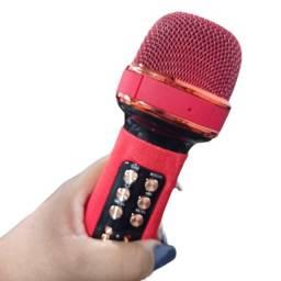 Título do anúncio: Microfone karaokê bluetooth sem fio