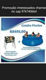 Título do anúncio: Promoção de Piscina + Churrasqueira