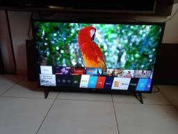 Linda smart Lg 43 semi novo 4k ultra HD