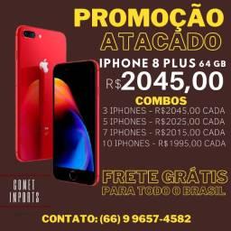 Atacado iPhone 8 Plus 64gb - Promoção