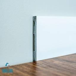 Rodapé Poliestireno Sollus 10cm, 12cm e 15cm Frisado ou Liso (barra 2,40m) Promoção