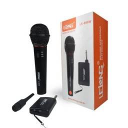 Entrega Grátis - Microfone Sem Fio Profissional Lelong Le-996w