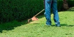 Roço lotes e jardinagem