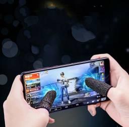 Luva de dedos antitranspirante para jogos profissionais competitivos jogos de tiro e afins