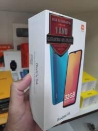 Promoção Xiaomi Redmi 9A 3GB Ram 32GB Rom Global - 1 Ano de Garantia - Novo Lacrado