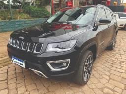 Jeep Compass Limited 2.0 diesel 4x4 somente 20 mil km preta ano 2020