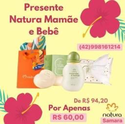 Kit mamãe e bebê Natura
