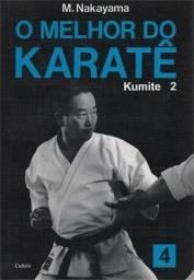 O Melhor do Karate lote de 04 volume 01 ao 04