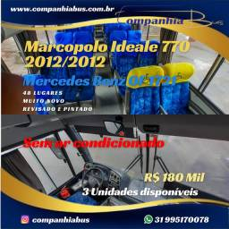 Marcopolo Ideale 770 2012/2012 Mercedes Benz OF 1721