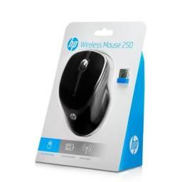 Mouse HP 250 / Sem Fio / Preto / Wireless - Novo
