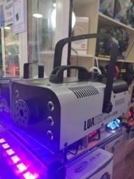 Máquina Fumaça 1200w Iluminação Rgb Controle Sem Fio<br><br>