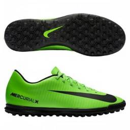 Chuteira Society Nike MercurialX Vortex III tamanho 44 11a3c9aa3da45