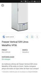 Freezer e expositor springer 539 litros 220v