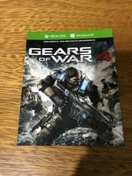 Gears Of War 4 - Xbox One Ou Pc - Lacrado - mídia Digital