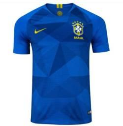 Camisa Seleção Brasileira Azul 2018