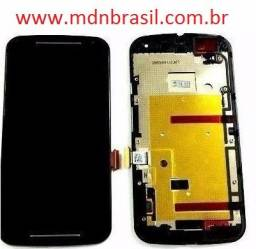 Combo Frontal Display Moto G2