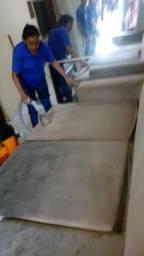 Limpeza a de sofás e pisos em geral